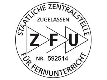 Staatliche Zulassung (ZFU)